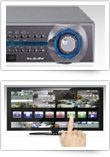 World's First NVR Touch